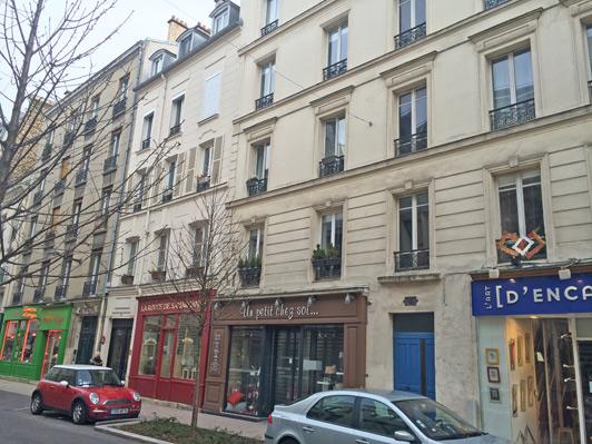 The restaurant Les Fees Papilles is on rue Lejemptel in Vincennes.