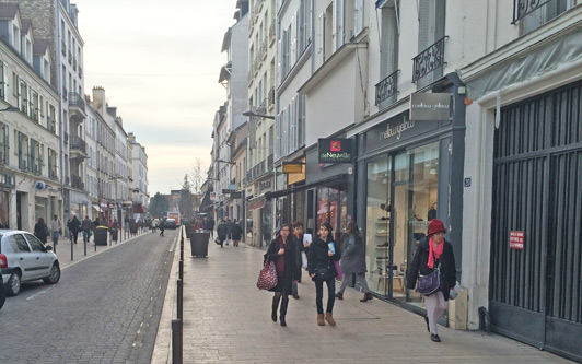 Vincennes, France: rue du Midi.