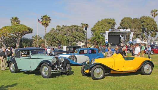 Best time to visit La Jolla: the 2015 La Jolla Concours d'Elegance will take place Friday, April 10 - Sunday, April 12.