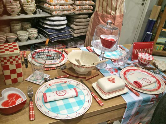 French tableware blends easily with any kitchen and will bring back warm memories.