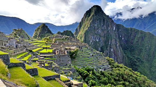 Thanks to expert planning, my husband and I had Machu Picchu almost to ourselves and weren't distracted by crowds of other visitors. That's my definition of authentic luxury travel!