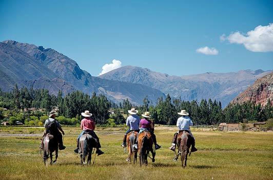 Ever ridden a Peruvian Paso? You can at Sol y Luna.