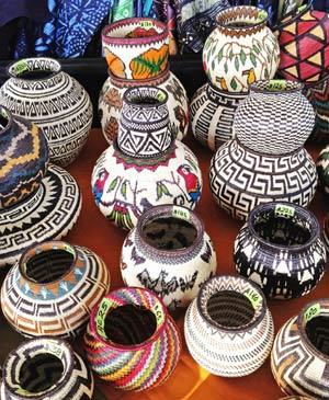 From back-and-white to full color, the annual Santa Fe International Folk Art Market has something for every taste.