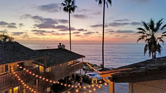 Insider tip: while La Jolla sunsets are beautiful year round, they always seem most spectacular in the fall.