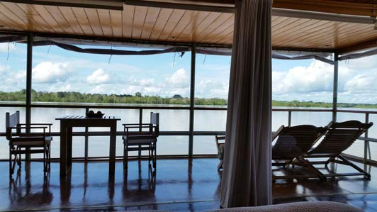 Pure bliss: Cruising on the Amazon River with Delfin 1.