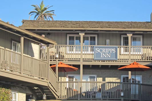 La Jolla beach - best boutique hotel.