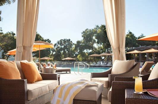 Adult pool, Carmel Valley Ranch.