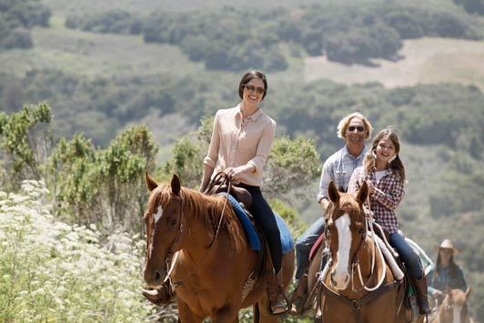 Carmel Valley Ranch offers an extensive equestrian program.