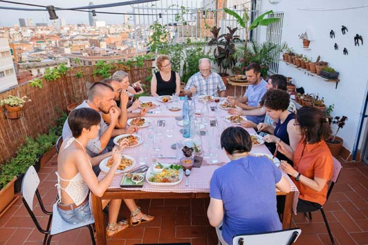 If you visit Barcelona, a meal Withlocals could be the most memorable event of your trip.