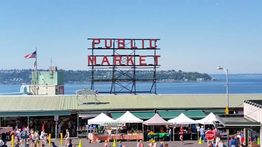 Pike Place Market is easily the most popular attraction in Seattle.