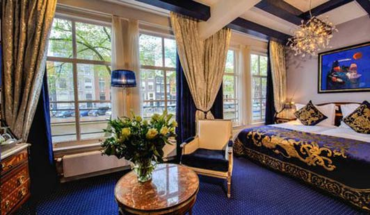 Amsterdam hotels: Most rooms at the Hotel Ambassade offer water views.