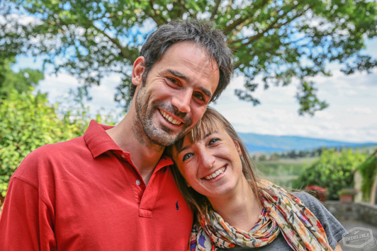 Meet Arianna & Alessio. She's a travel guide and he's a qualified Sommelier.