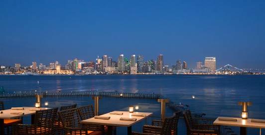 Coasterra's panoramic views include North Island Coronado and the downtown San Diego skyline. Credit Creative Found Studio.