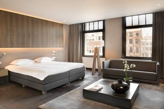 """Amsterdam hotels: """"A stay at The Dylan Amsterdam is the next best thing to living in a canal house on the Keizersgracht."""""""