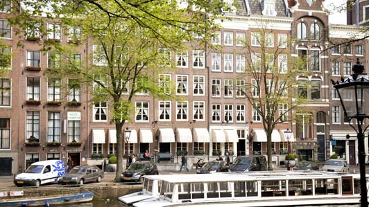 """Amsterdam hotels: The Estherea is """"quiet yet close to the bustle."""""""