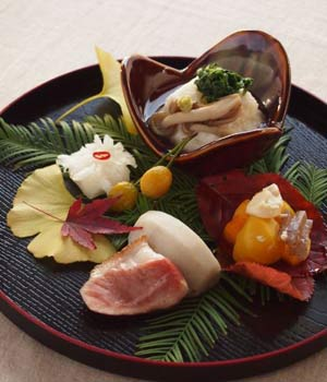 Seafood meals in Japan are a work of art.