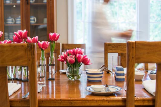 Rates at Otahuna Lodge include accommodation, full breakfast, multi-course gourmet dinners with wine, beverages throughout the day and laundry service.