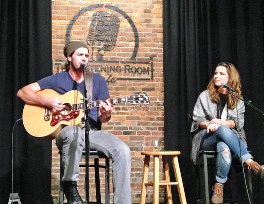 The Listening Room Cafe is one of many popular Nashville live music venues.