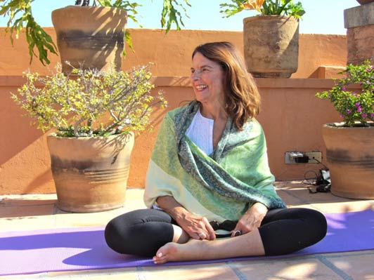 Anne Marie Welsh leads yoga retreats to some of the most beautiful places in the world.