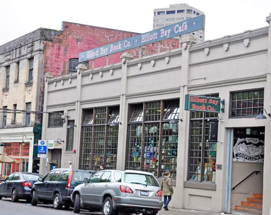 Seattle landmark: Elliot Bay Book Company located in the colorful Capitol Hill area.