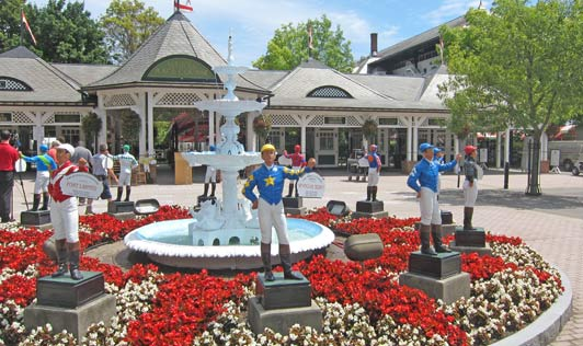 Saratoga Springs and Del Mar (near San Diego) are the two great summer tracks in the U.S.