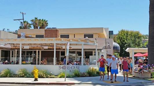 Shorehouse Kitchen is a popular spot for weekend breakfasts.