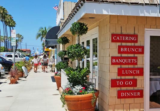 I loved writing about the best places to eat in my hometown: La Jolla, California.