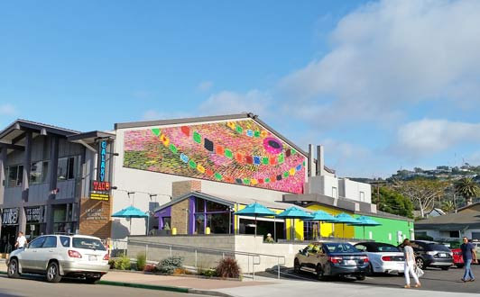 """Galaxy Taco offers upmarket Mexican fare and tequila based """"adult beverages."""""""