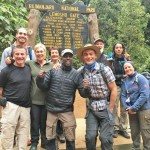 The team is ready to begin the journey to the top of Kilimanjaro. Everyone still has clean clothes and smells great!