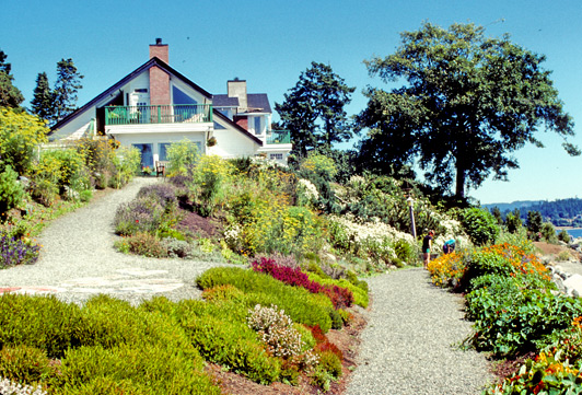 Charming Sooke Harbour House, located on the water, is the best place to stay near Victoria.
