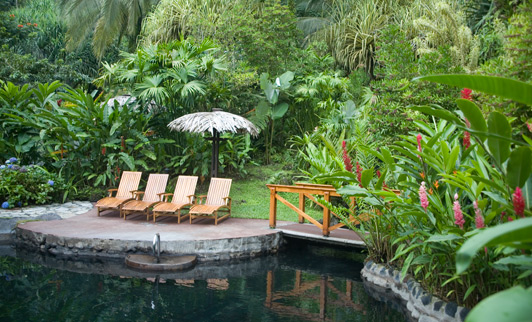 If you go to Costa Rica, a soak in the hot springs adjacent to Tabacon Thermal Resort is a must!