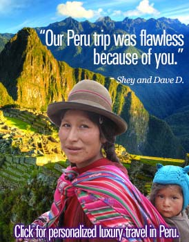 Discover the ancient and magical culture of  Peru