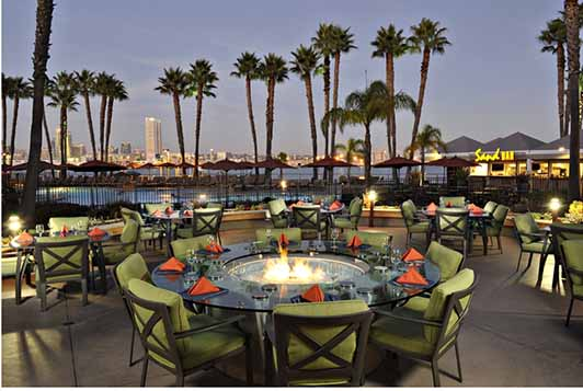 Winners of the Romantic Coronado Getaway will enjoy lunch and spa treatments at the Coronado Island Marriott Resort & Spa.