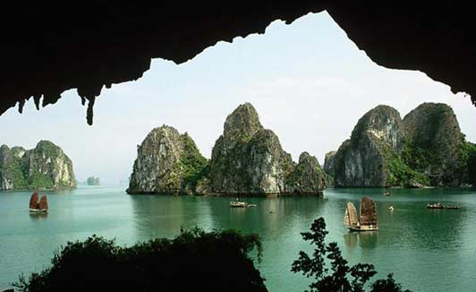 Halong Bay with Vietnam Alive.