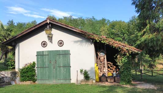 Ramandolo Club is a country house in Friuli-Venezia Giulia where guests can ride horses and enjoy some of the region's best wine.