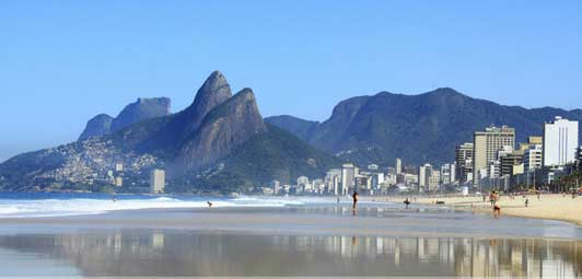 Rio de Janeiro is home to Brazil's most beautiful beaches.