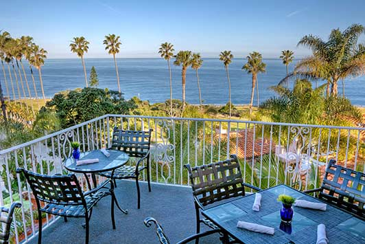 Dinner at THE MED at La Valencia in La Jolla is part of the La Jolla Foodie Getaway prize.