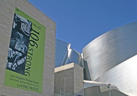 Walt Disney Concert Hall, downtown Los Angeles.