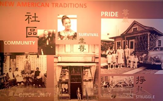Chinese American Museum, El Pueblo, Los Angeles.