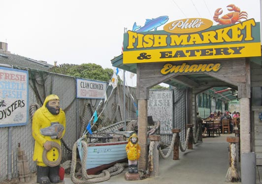 Phil's is the first choice of locals in the Monterey Bay area.