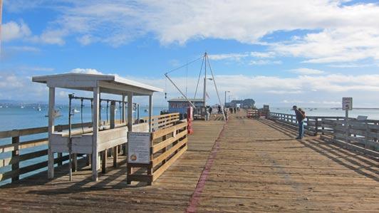 Harford Wharf, Port San Luis, Avila Beach on the Central Califoria coast.