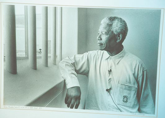 Nelson Mandela knew that even seemingly impossible change is possible.
