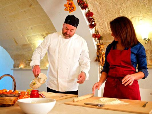 Cooking class, Puglia. Photo courtesy Aria Luxury Apulia.