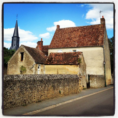 Typical village in Normandy, France. Photo credit Doug Hamilton.