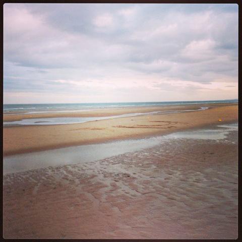 Omaha Beach on the Normandy coast. Photo credit Doug Hamilton.