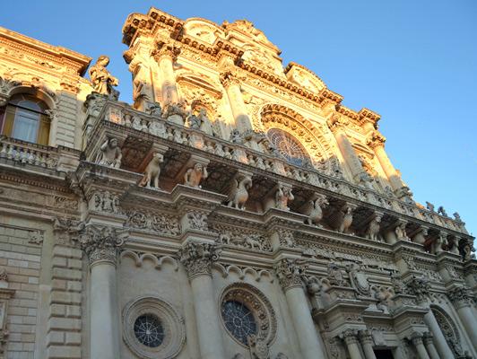 Lecce basilica. Photo courtesy Aria Luxury Apulia.