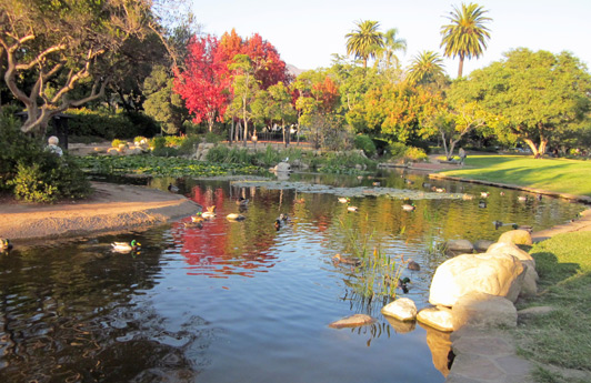 Donated by Alice Keck Park, this Santa Barbara, California, space is known as Alice Keck Park-Park.