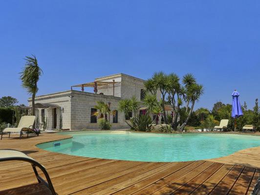 Villa Amaranto, Puglia. Photo courtesy Aria Luxury Apulia.