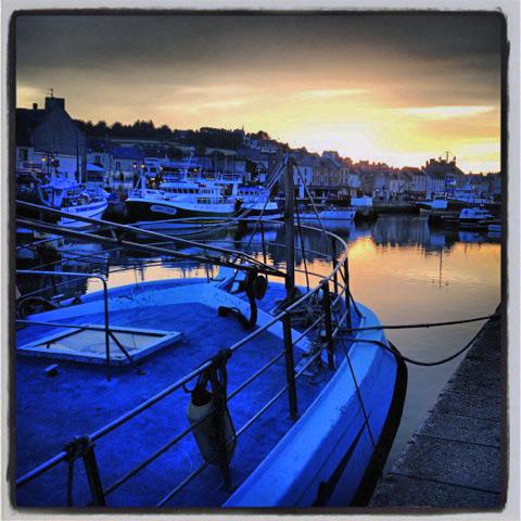 Marina, Port en Bessin, Normandy. Photo credit Doug Hamilton.