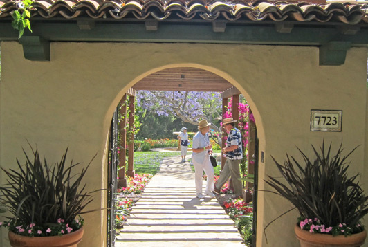 Garden tours allow travelers to go beyond privacy walls and enjoy an authentic view of a destination.